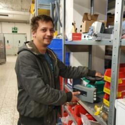 David Hartmann von Waidacher Gebäudetechnik Arosa