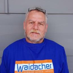 Herbert Bauer von Waidacher Gebäudetechnik Arosa