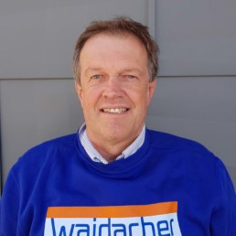 Ludwig Waidacher Geschäftsinhaber von Waidacher Gebäudetechnik Arosa