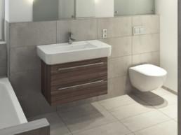 Sanitär Service Arosa Badezimmer Renovation - Waidacher Gebäudetechnik